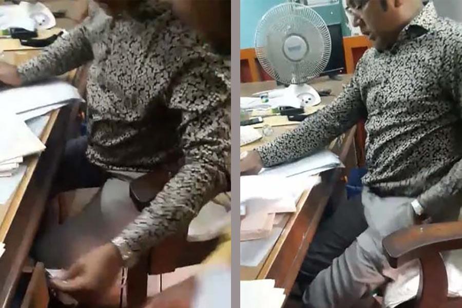 Sub-registrar suspended over bribery scandal in Narayanganj