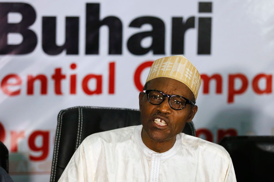 Nigerian President Muhammadu Buhari. Reuters.
