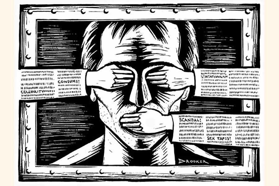 Freedom of media under threat worldwide