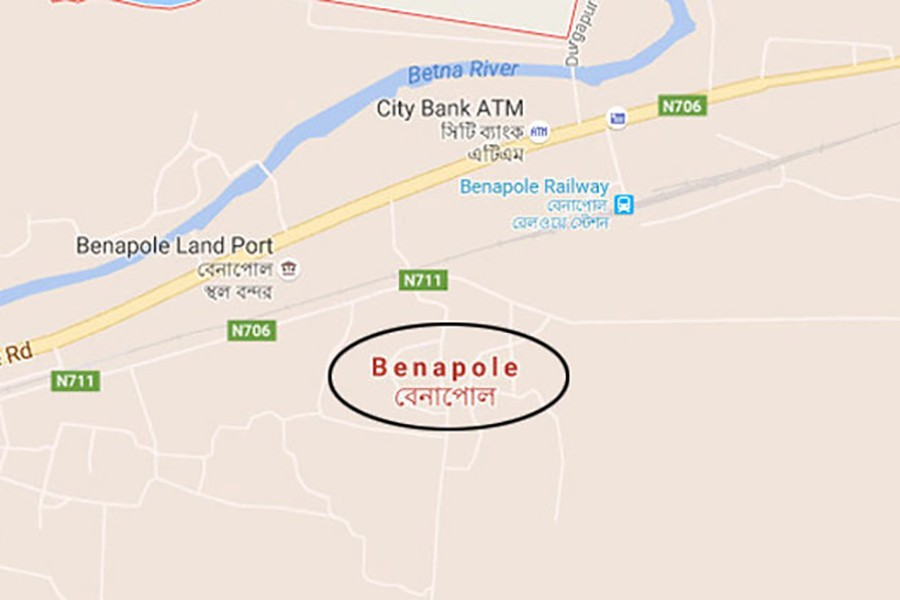 BGB recovers 24 gold bars at Benapole