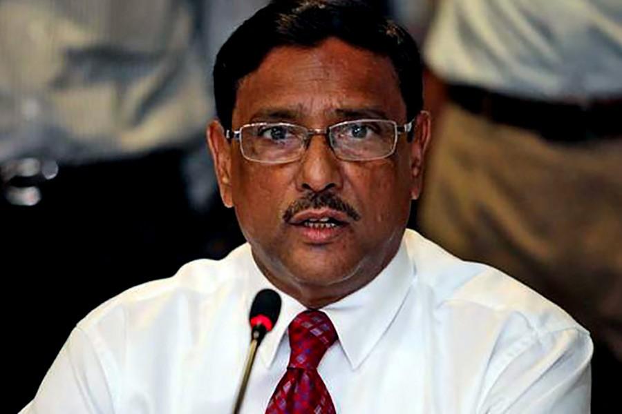 BNP losing support for negative politics: Obaidul Quader