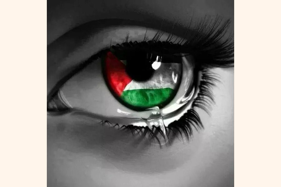Blood and tears in Palestine