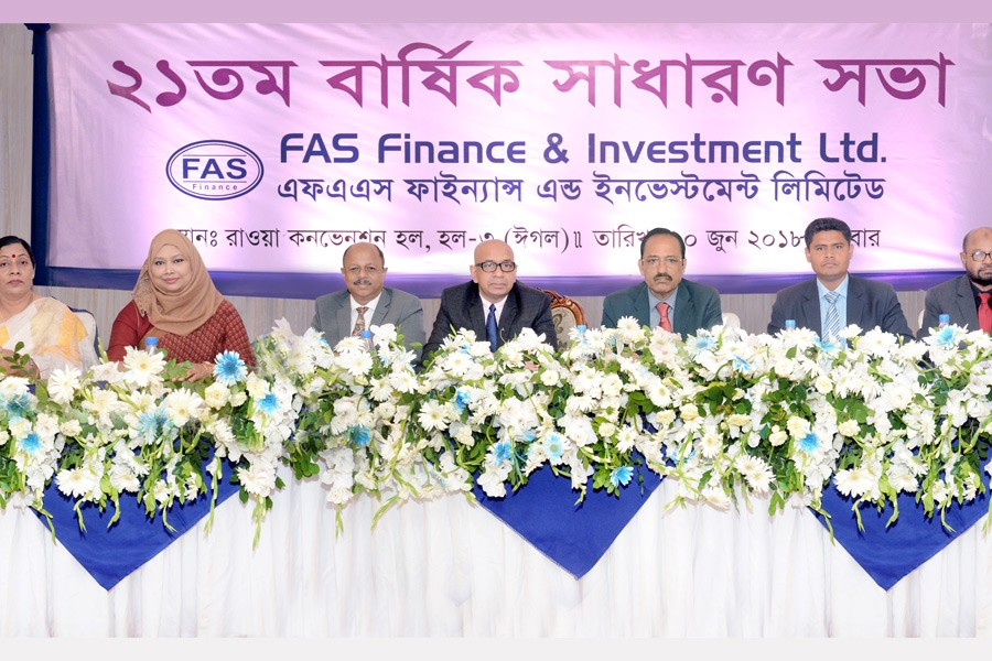 FAS Finance approves 10pc stock dividend