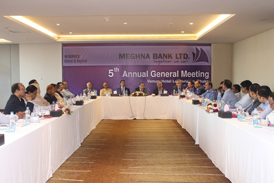 Meghna Bank holds AGM, declares 6pc stock dividend