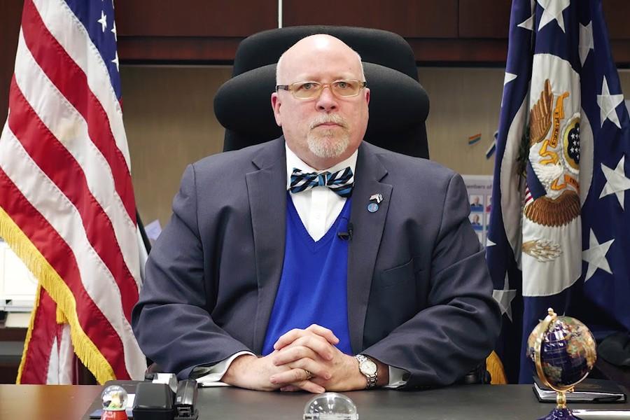 US ambassador to Estonia James D Melville  (Internet Photo)