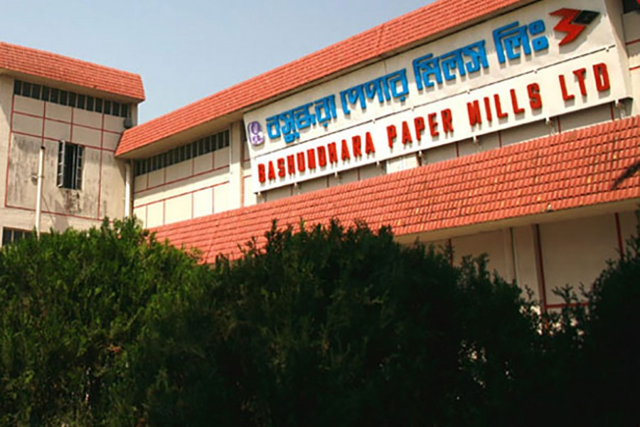 Bashundhara Paper's share jumps 63pc in debut trading