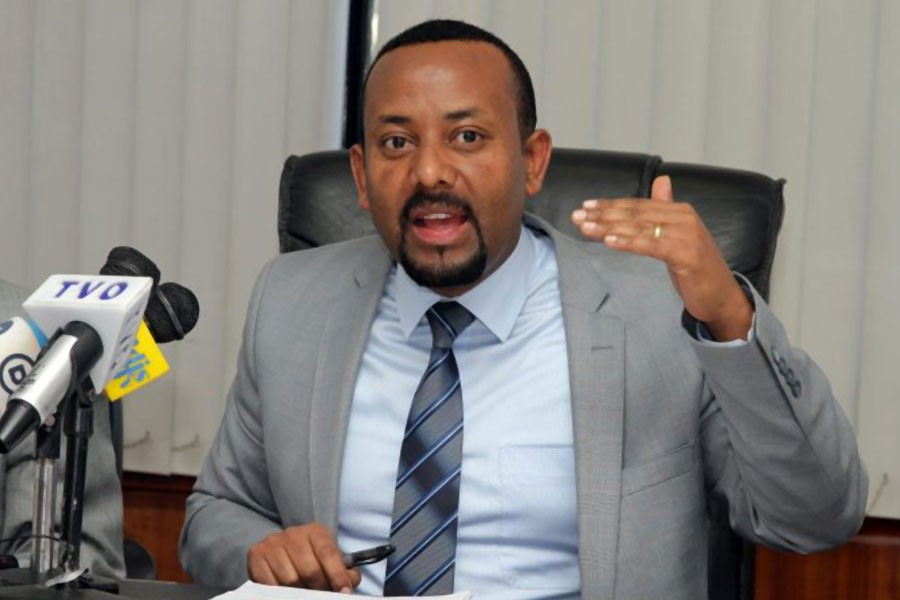Ethiopia's new PM Abiy Ahmed. Reuters photo.