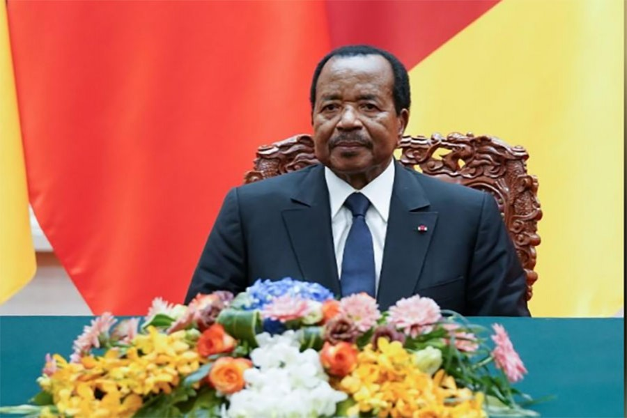 Cameroon's president makes bid for seventh term