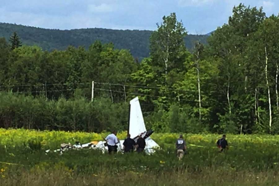 Small plane crash leaves three dead in Maine