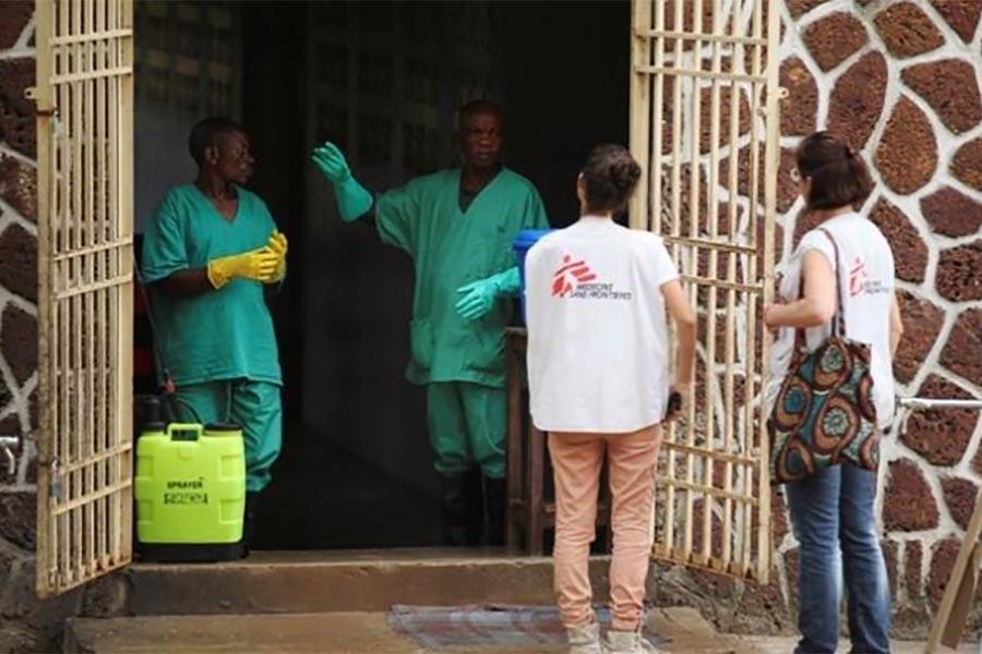 WHO's Ebola team arrives in Congo