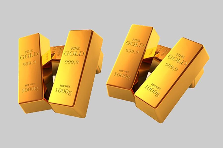 Customs officials seize 13 gold bars
