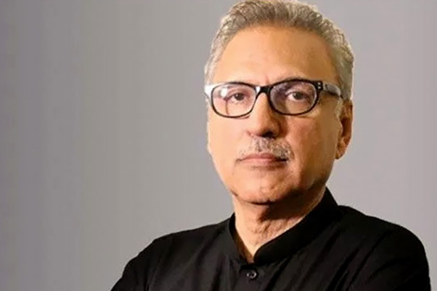 Arif Alvi becomes new president of Pakistan