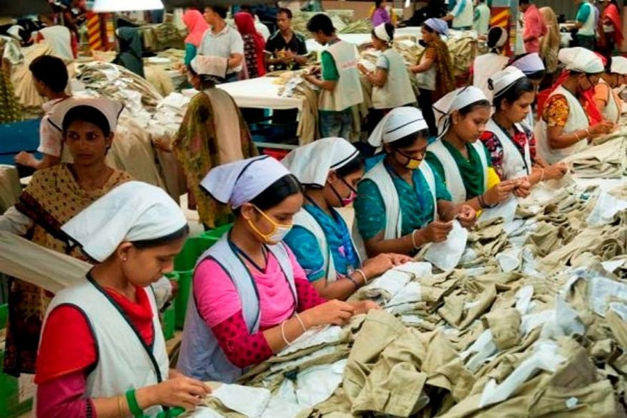 A slice of Chinese garment export relocating to Bangladesh