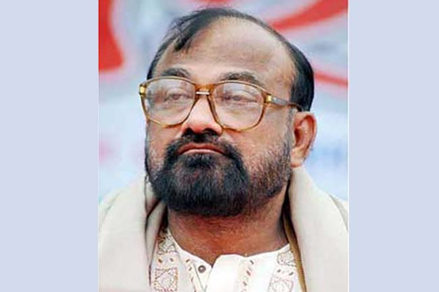 Former mayor of undivided Dhaka City Corporation (DCC) and BNP leader Sadek Hossain Khoka seen in this file photo — Collected