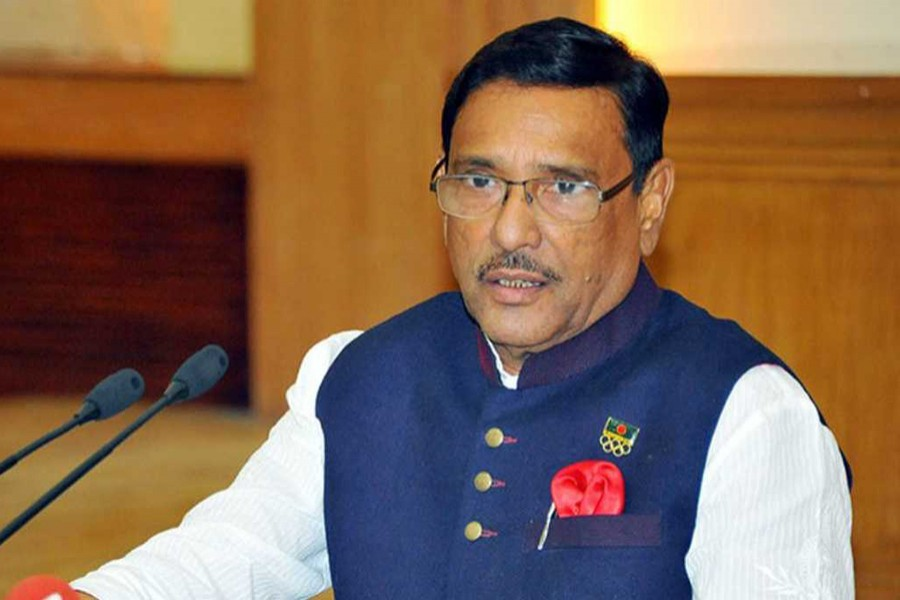 Awami League General Secretary Obaidul Quader. File photo