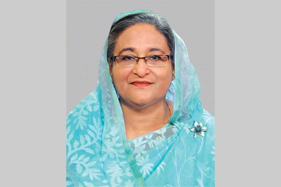 Hasina says BNP senses defeat in election