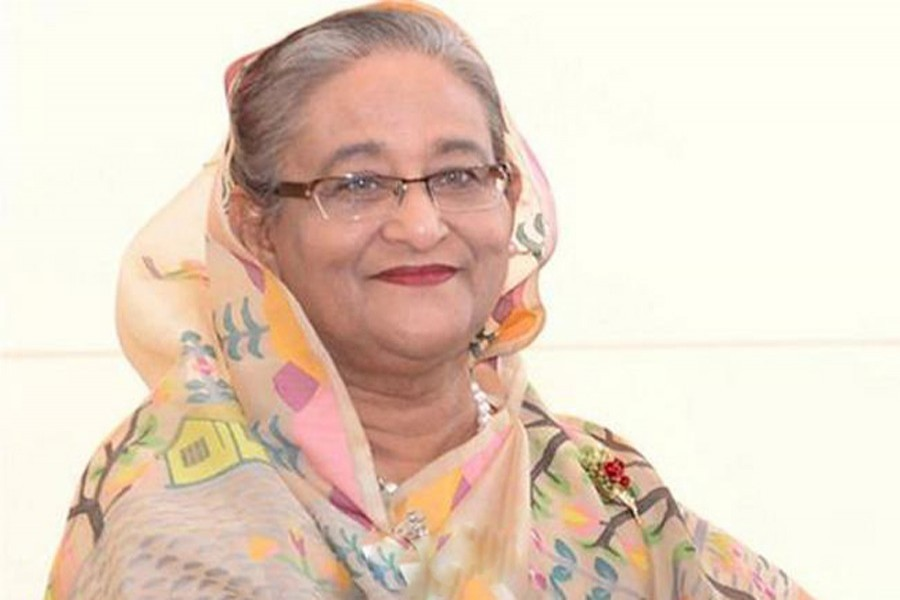 Prime Minister Sheikh Hasina — File photo