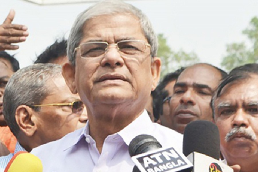 BNP Secretary General Mirza Fakhrul Islam Alamgir seen in this undated photo — Collected