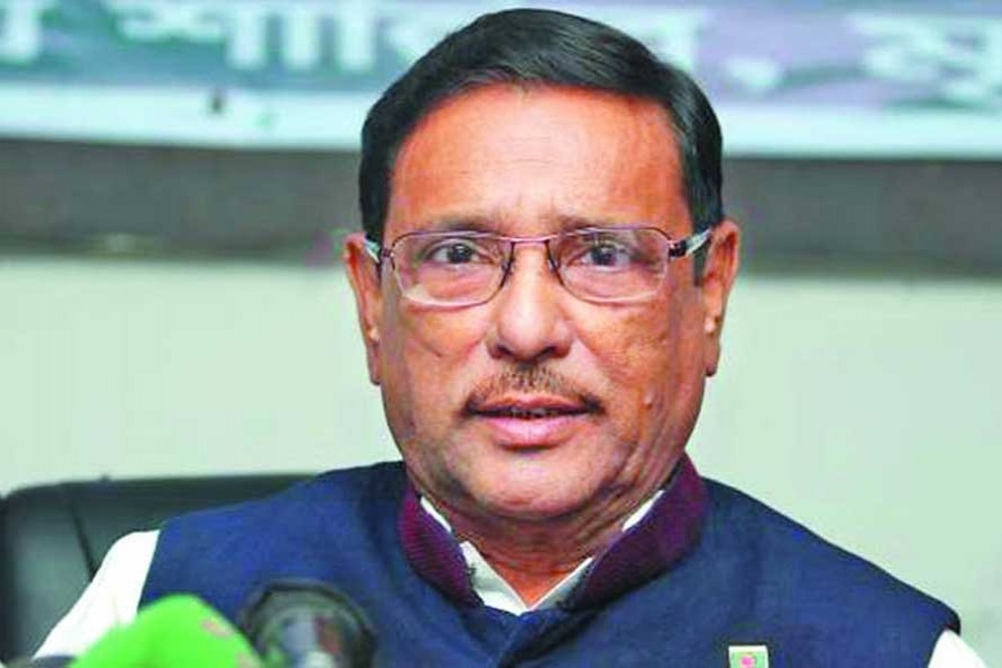 Quader blasts BNP for complaining to foreigners