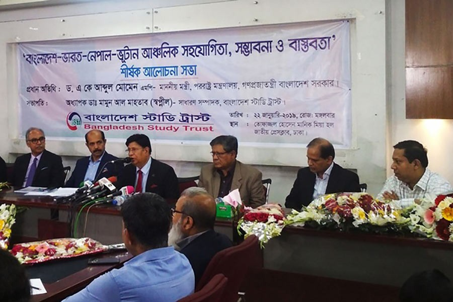 Foreign minister to take measures to expedite BBIN initiative