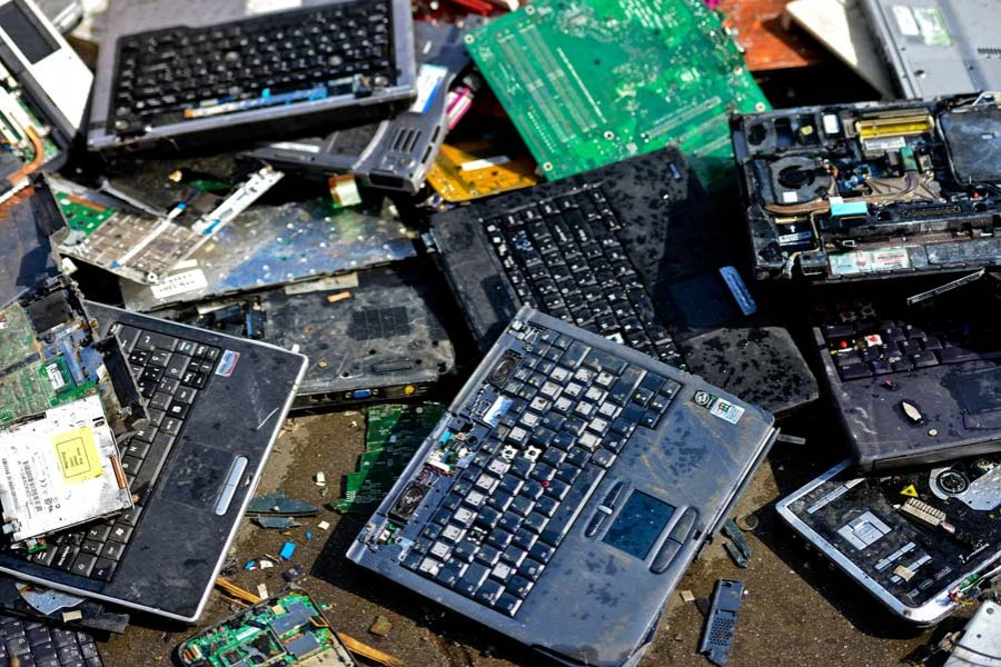Dealing with e-waste