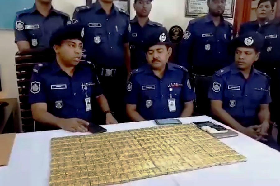Police recover 700 gold bars in Chattogram