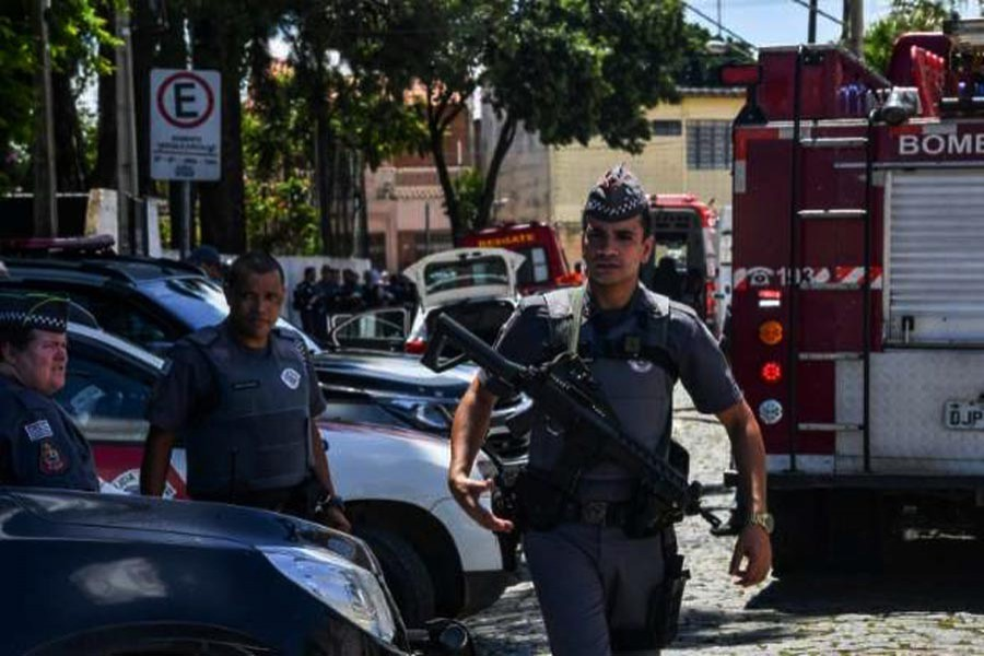 Brazil police arrest teen involved in school shooting