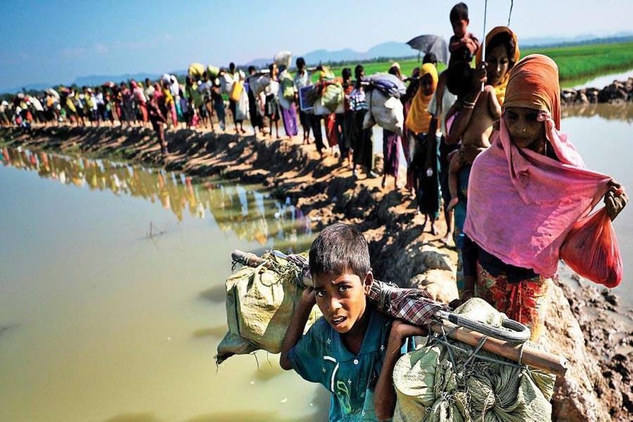 No hurry to relocate Rohingya, govt tells UN bodies