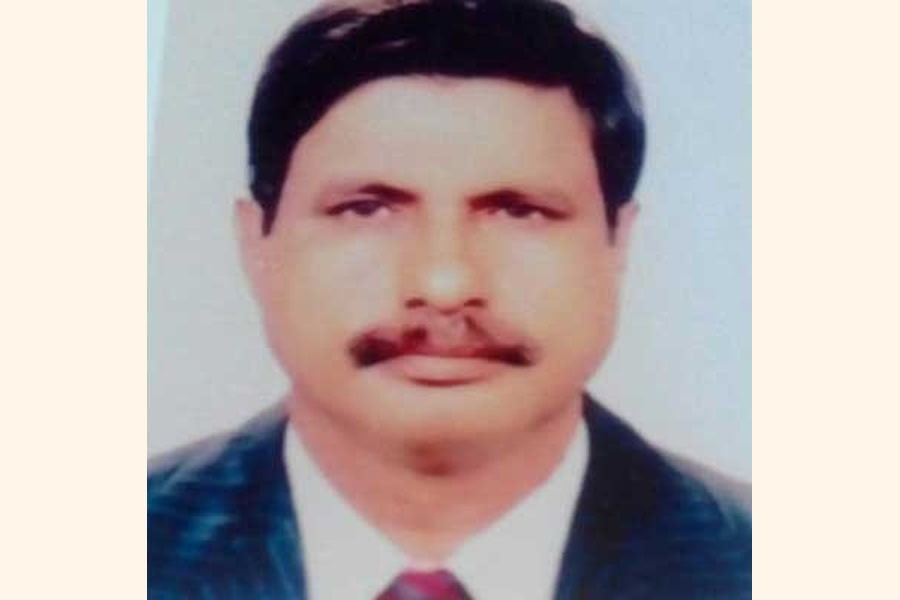 File photo of BNP chairperson's adviser Kazi Asaduzzaman Asad (Collected)