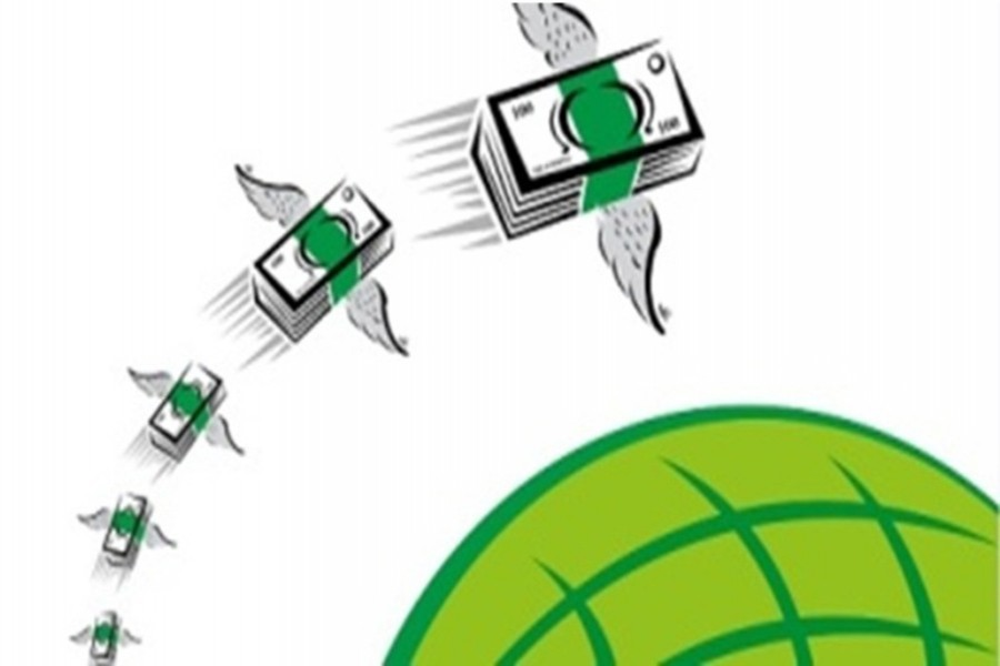 Record high growth of remittance