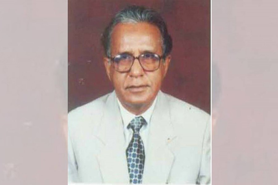 BNP vice-chairman and former minister  Barrister Aminul Haque seen in this file photo