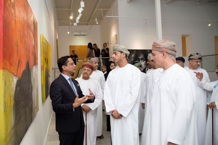 Bangladeshi artworks enthral Omani audience