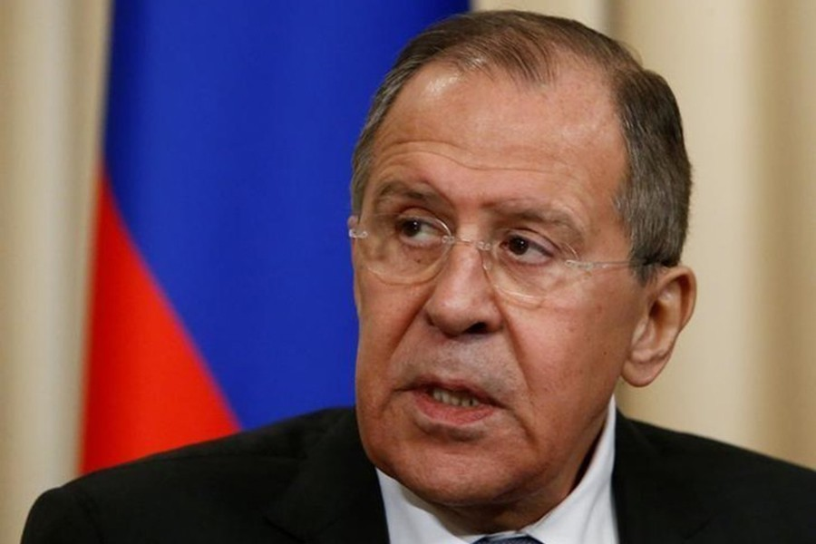 Russian Foreign Minister Sergei Lavrovseen in this undated Reuters photo