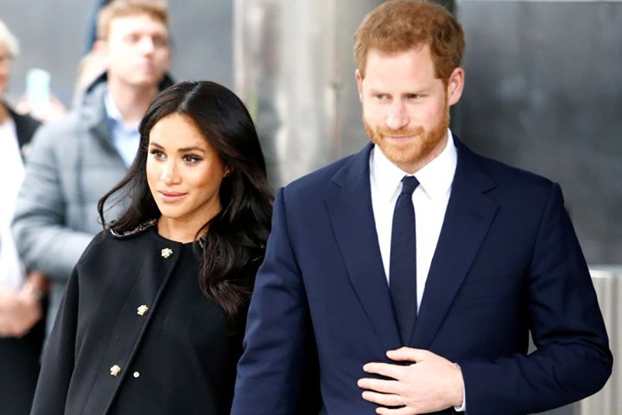 Harry, Meghan welcome baby boy