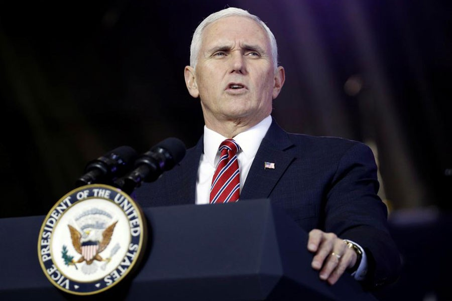US Vice President Mike Pence - Reuters file photo