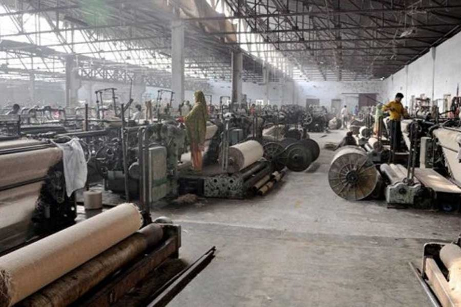 Redressing grievances of jute mill workers