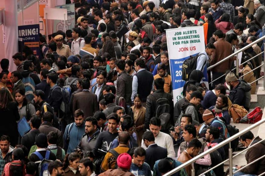 Unemployment in India hits 6.1pc