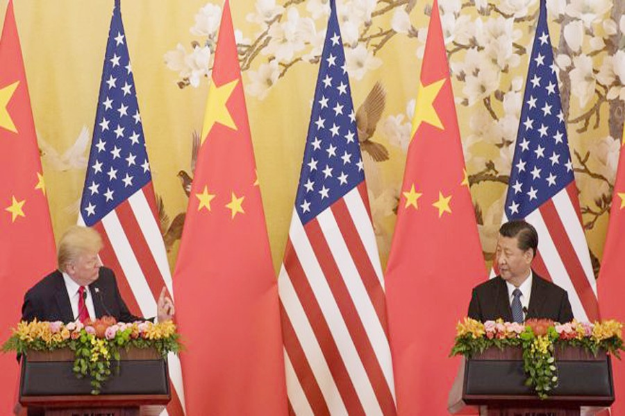 US says China playing 'blame game' in trade battle