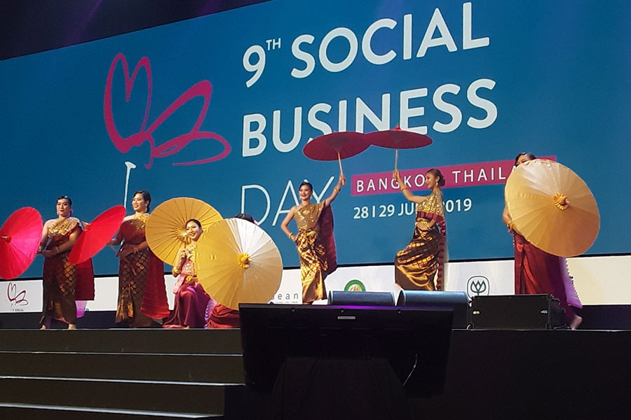 Social business day concludes in Bangkok