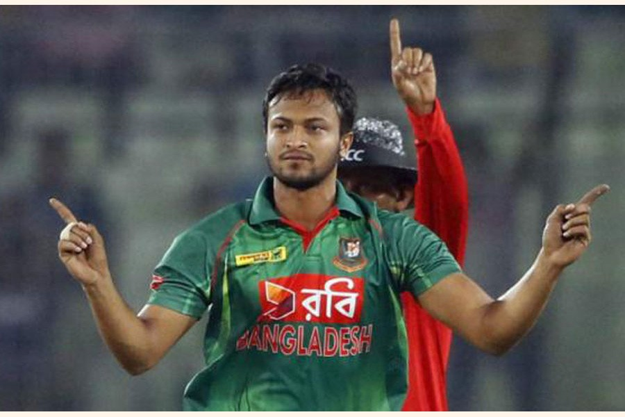 Shakib included in Monga-Kimber World Cup