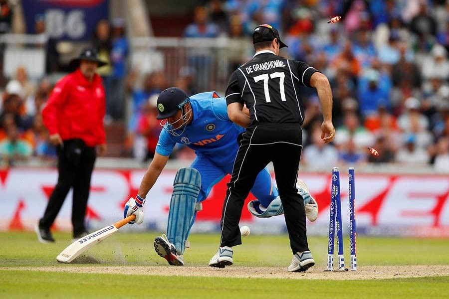 New Zealand beat India by 18 runs