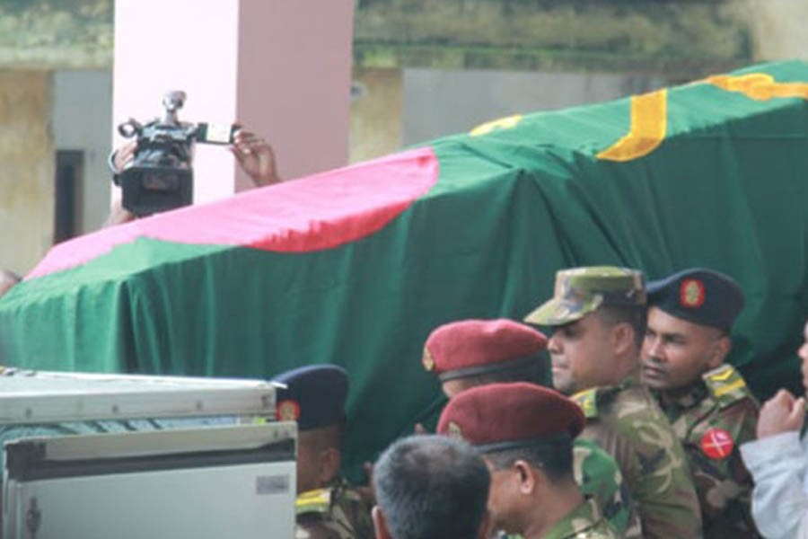 Ershad laid to eternal rest in Rangpur