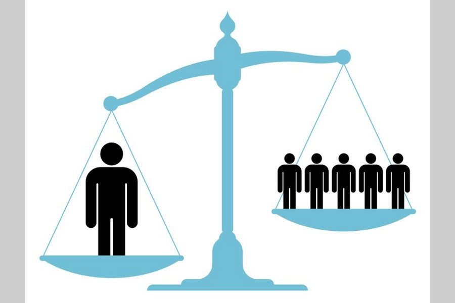 An unequal society