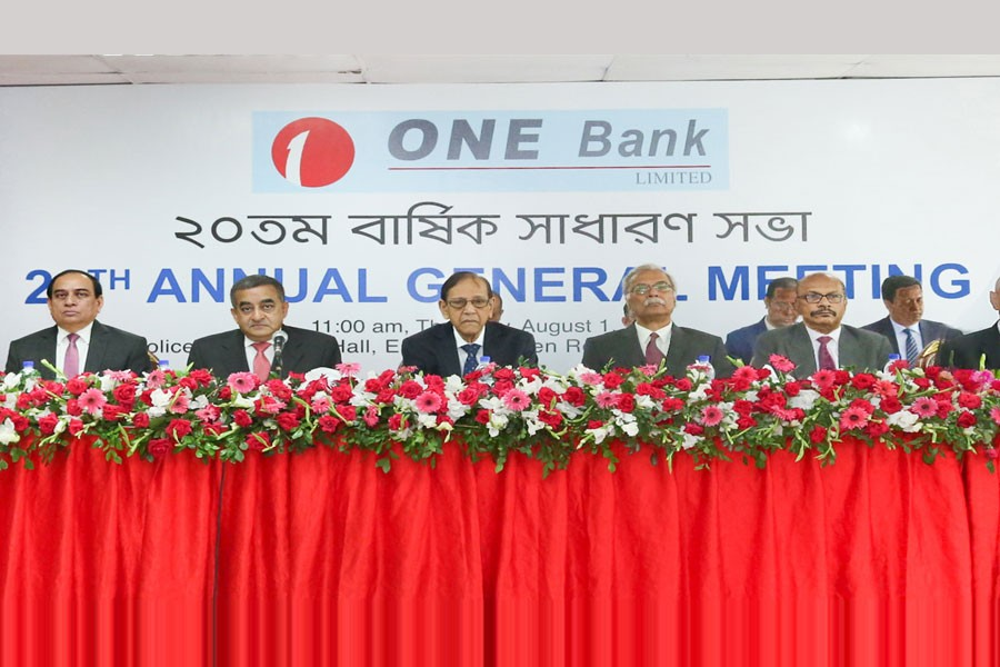 ONE Bank AGM approves 10pc stock dividend