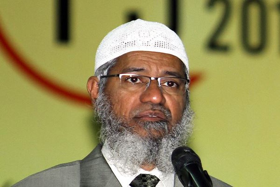 Malaysia cabinet to discuss residency of Zakir Naik
