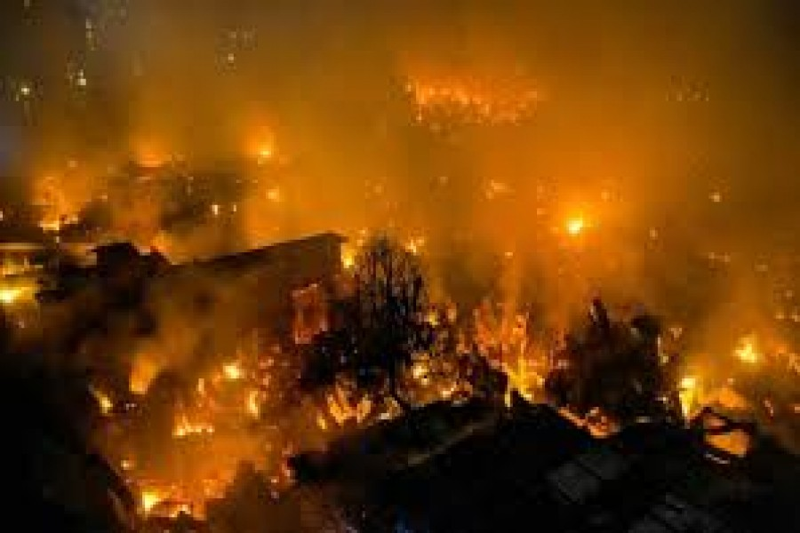 Committee formed to investigate Mirpur slum fire