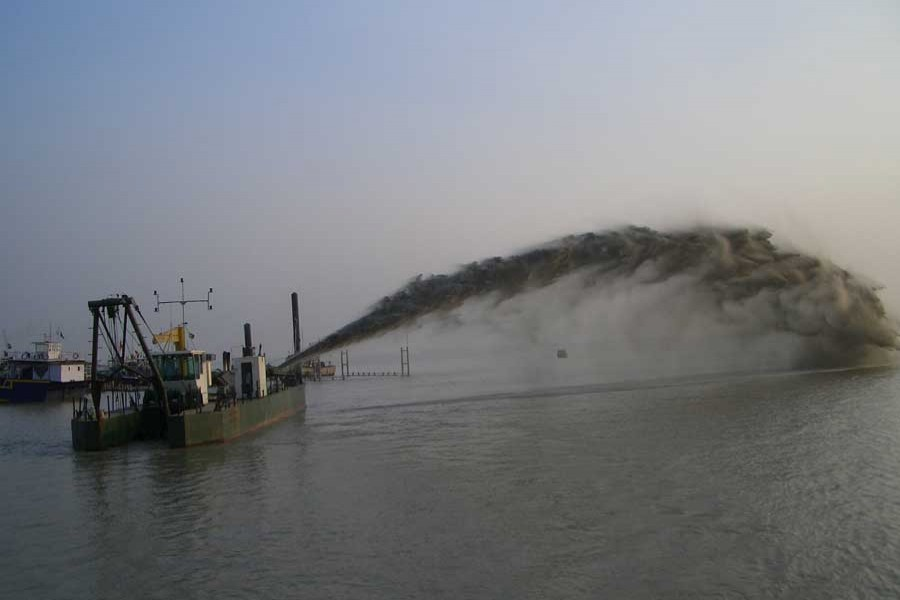 Saving small rivers from dredging gangs