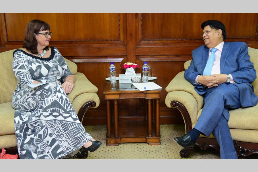 BD seeks NZ support for Rohingya repatriation