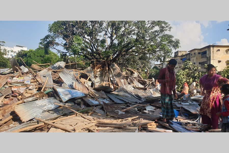 Railways authorities begin eviction drive