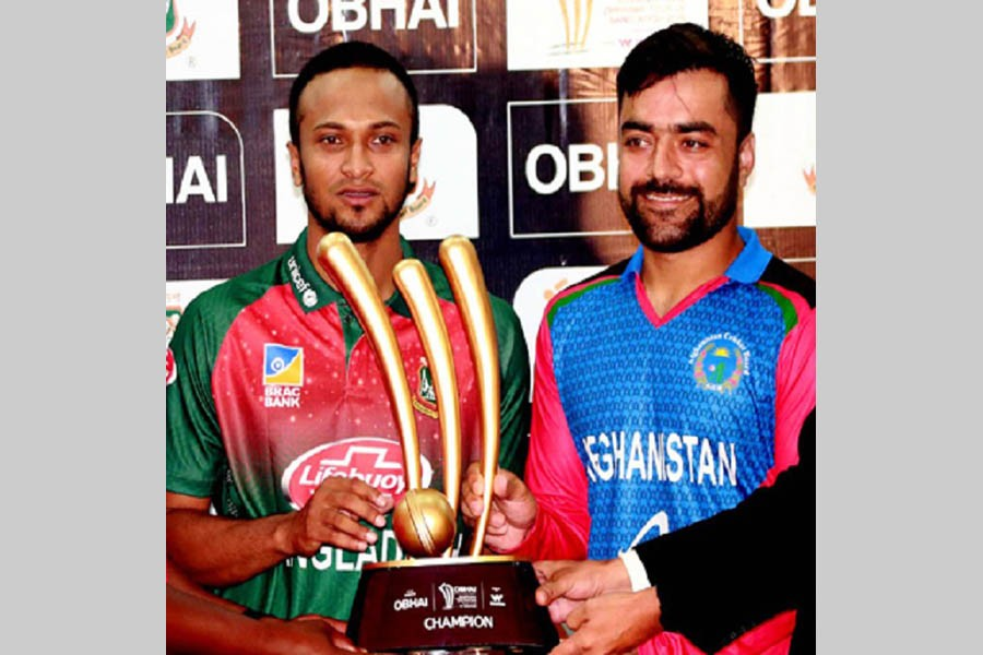 BD, Afghanistan declared joint champions as rain washes out final